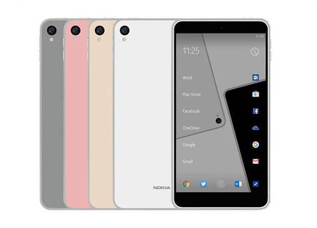Дизайн Nokia D1C