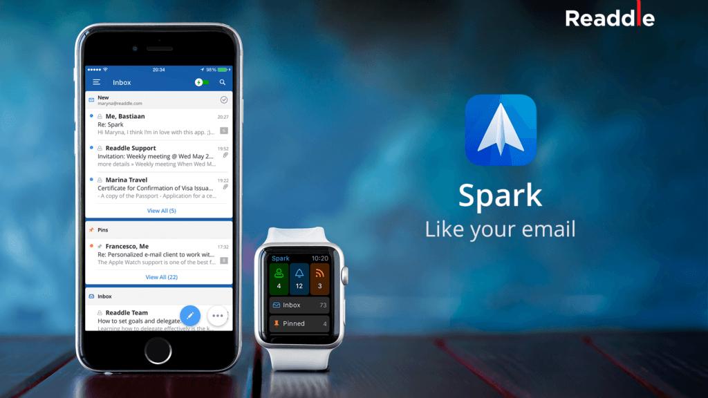 Spark на iPhone