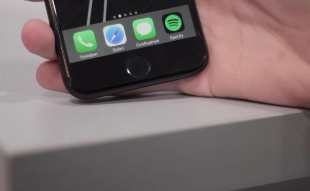 Кнопка Home на iPhone 6 и iPhone 7