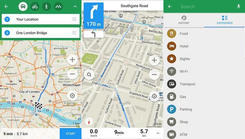Приложения-навигатор Maps.Me