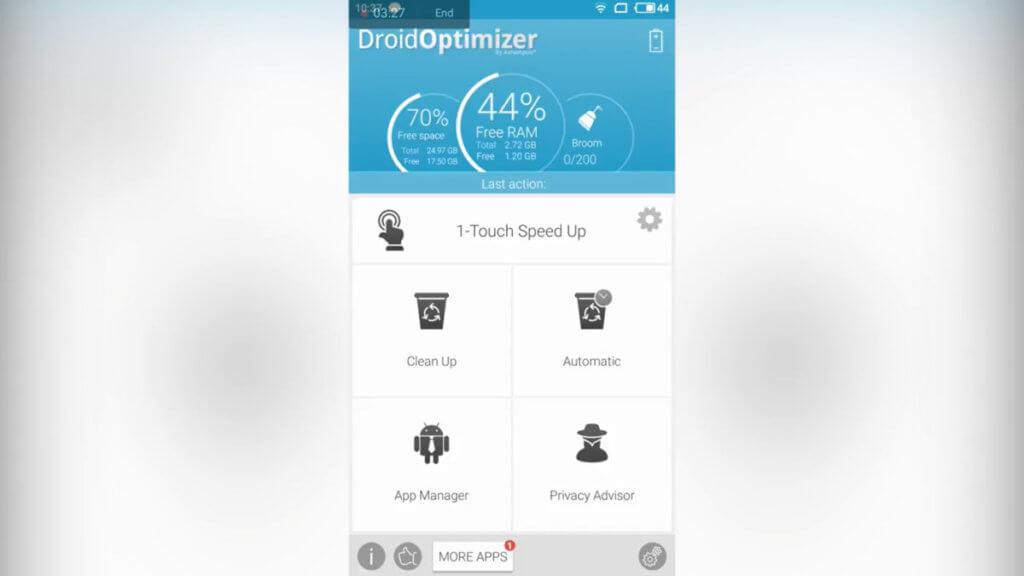 Droid Optimizer для Андроид
