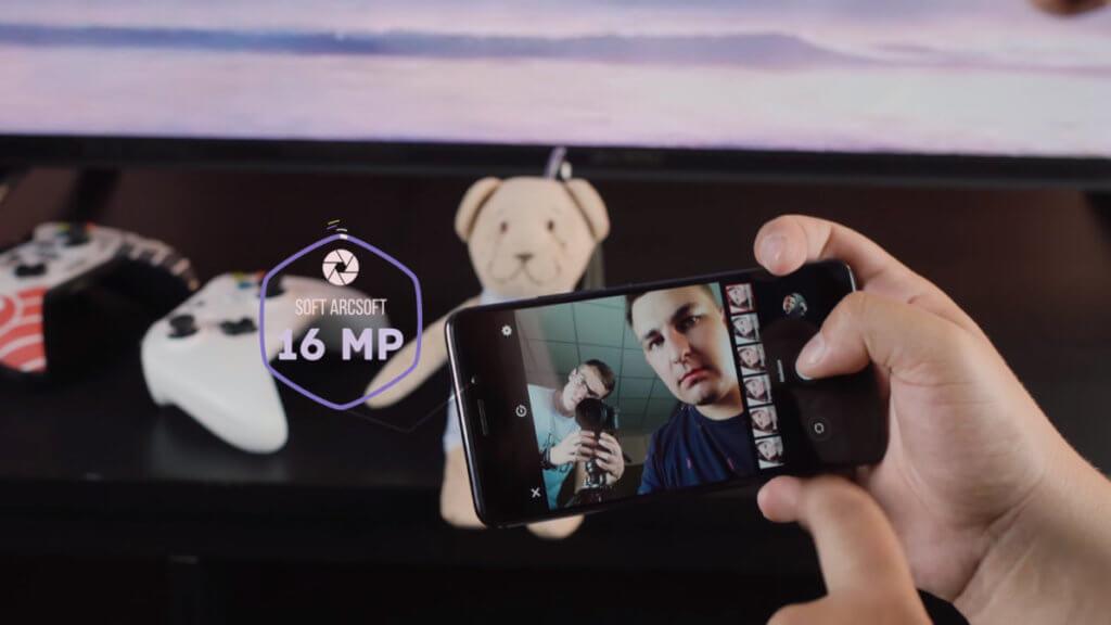 Фронтальная камера Meizu M6 Note