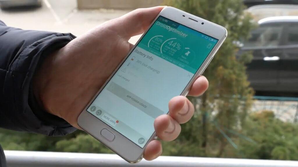 Оптимизация батареи Андроид