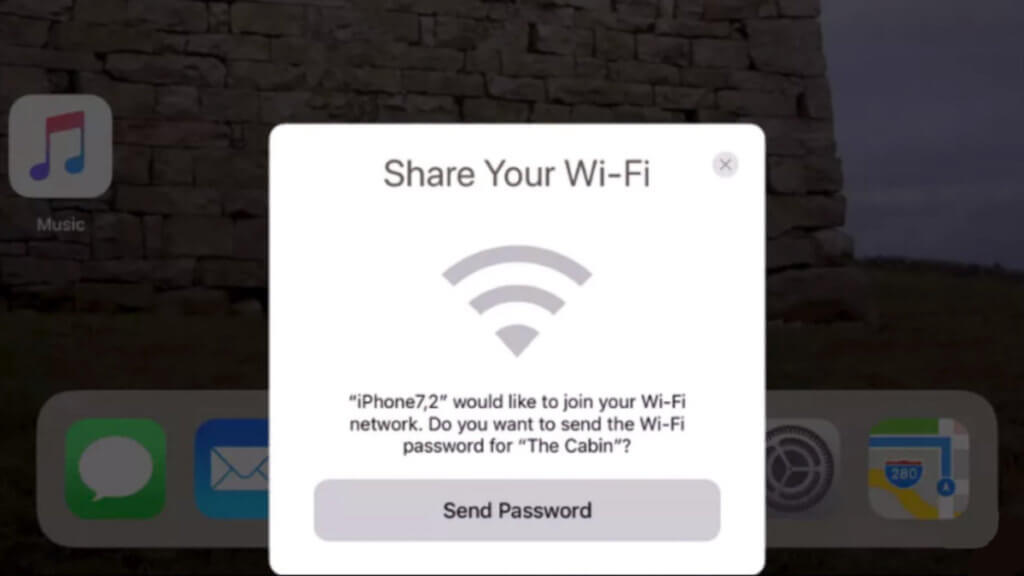 Подключение iPhone к Wi-Fi точке без пароля